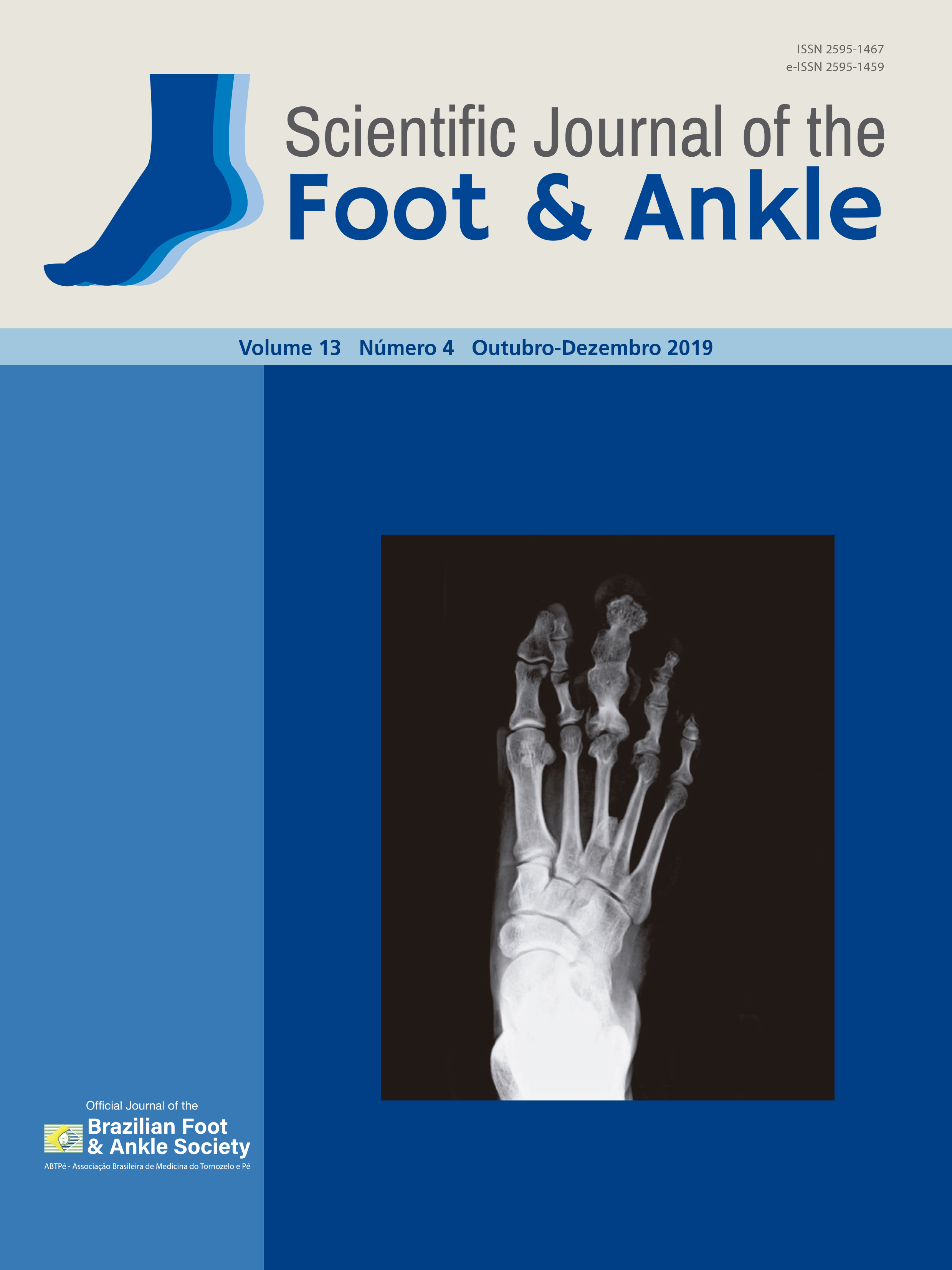 View Vol. 13 No. 4 (2019): Scientific Journal of the Foot and Ankle