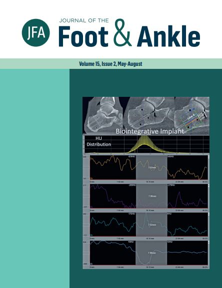 View Vol. 15 No. 2 (2021): Journal of the Foot and Ankle